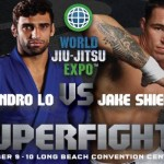 Leandro Lo enfrenta Jake Shields no World Jiu-Jitsu Expo 2013