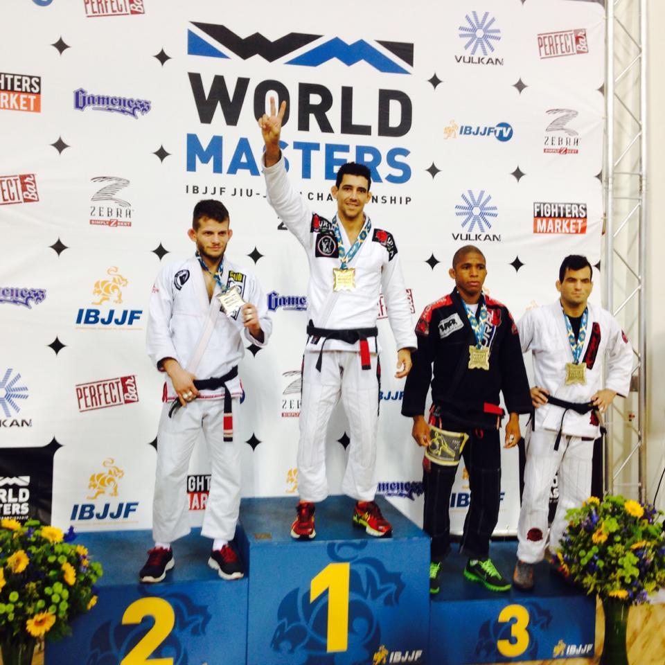 Daniel Beleza World Master IBJJF 2014