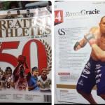 Royce Gracie entre os 50 maiores esportistas de todos os tempos
