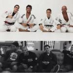 Mendes Bros, Marcos Buchecha e Kelly Slater treinam juntos na California.